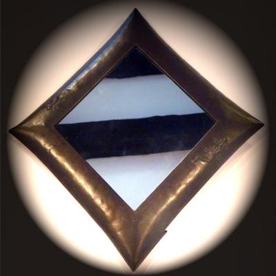 Art de madagascar miroirs miroir bomb losange for Miroir losange